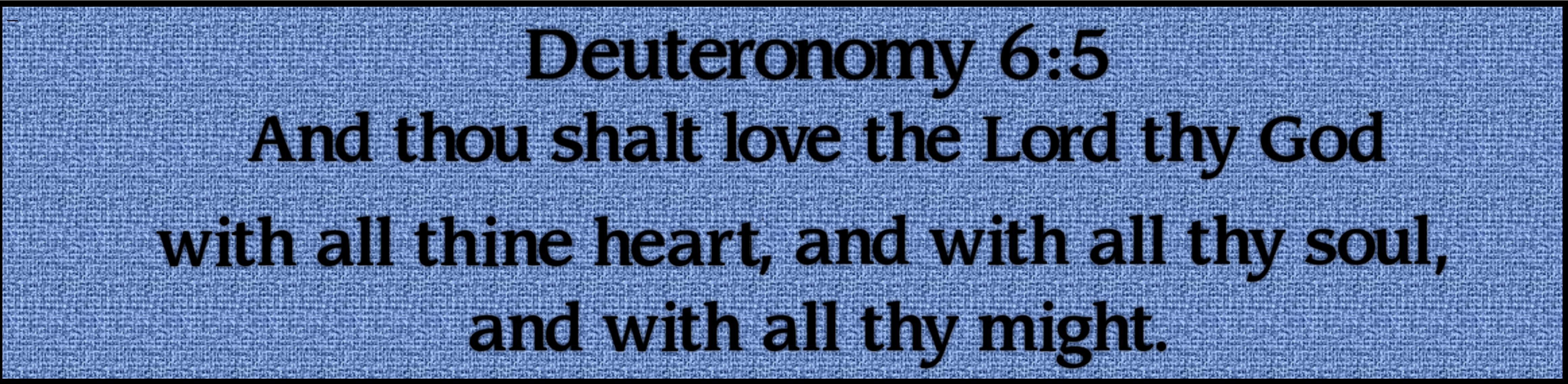 deuterenomy 65