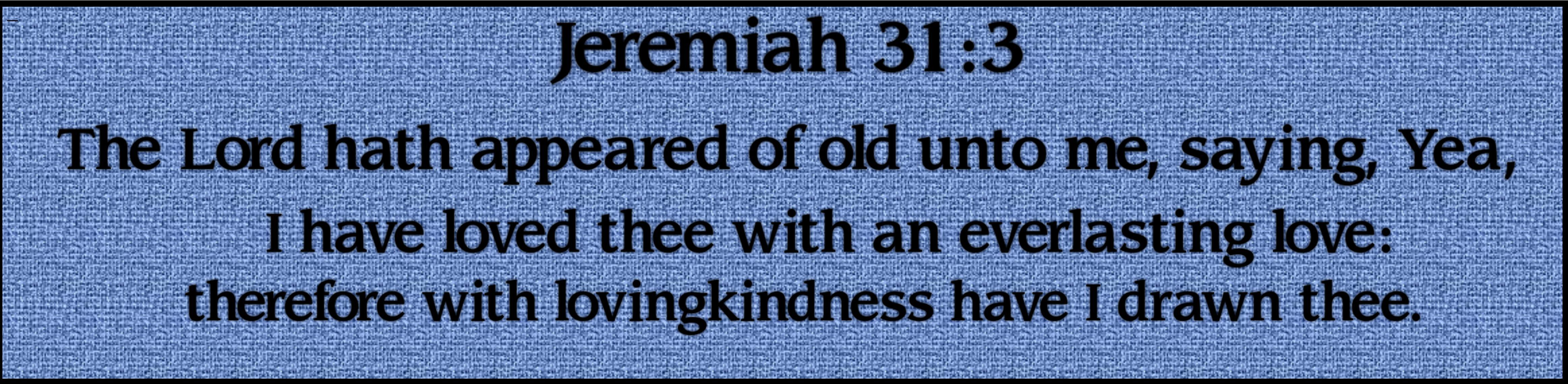 jeremiah 313