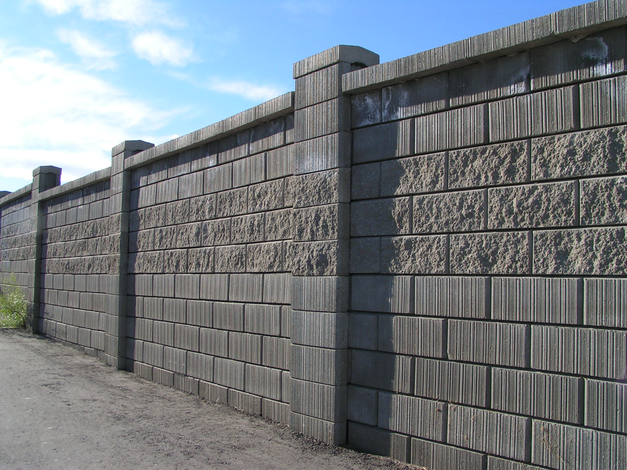 Decorative Concrete Block Fence Designs HAIRSTYLE GALLERY
