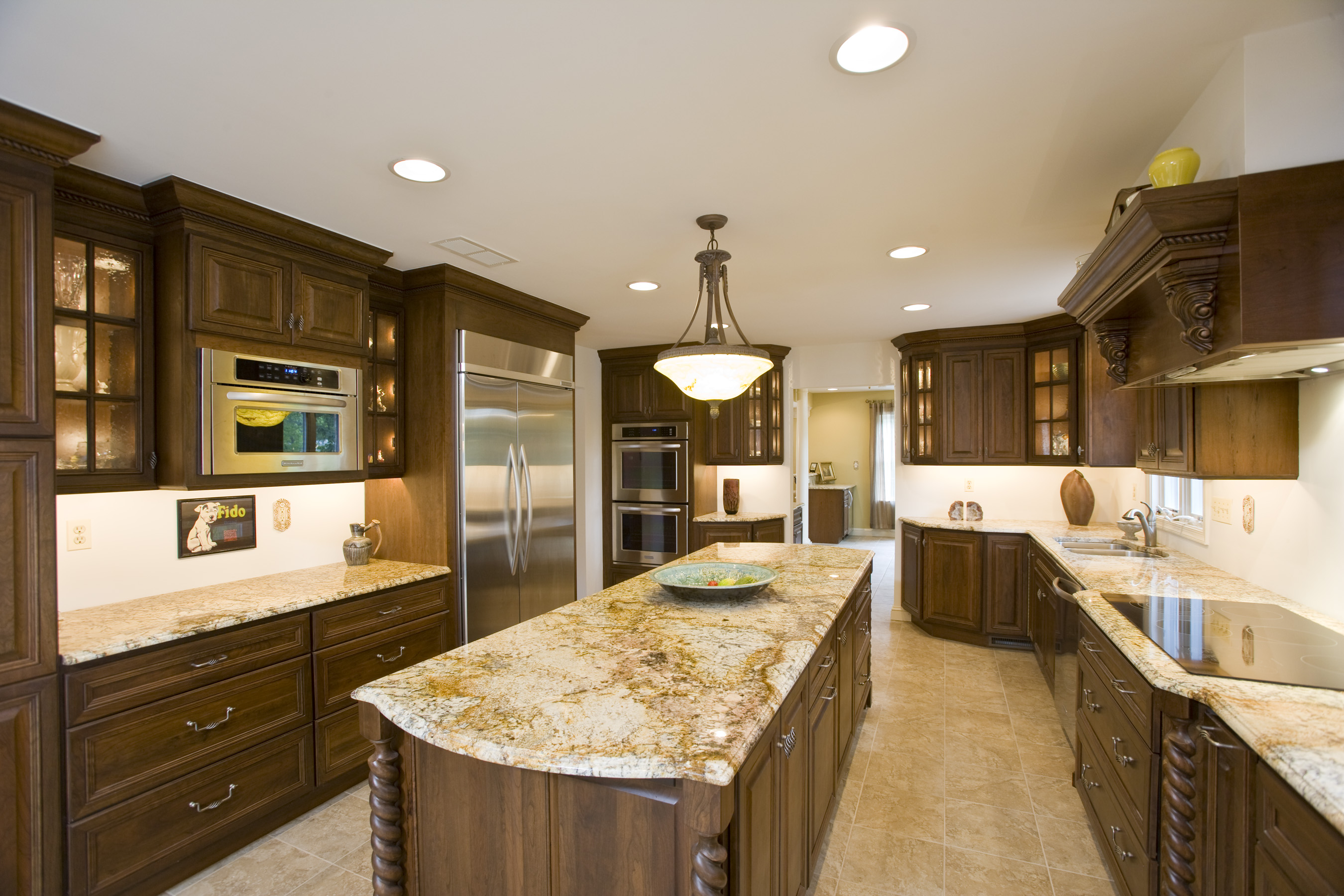 Granite installation jmarvinhandyman Kitchen design with granite countertops