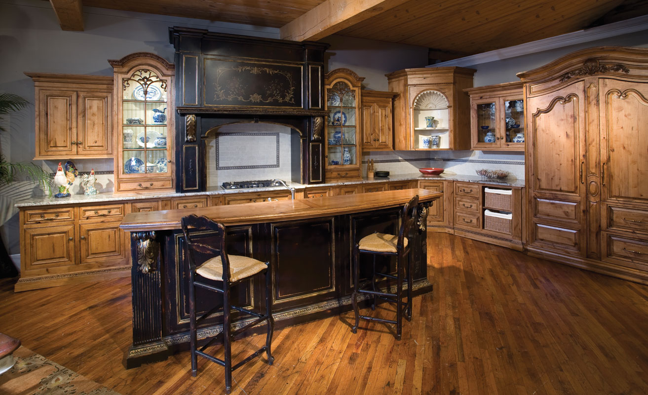 Kitchen island custom designs - Alder Custom Kitchen Cabinetry