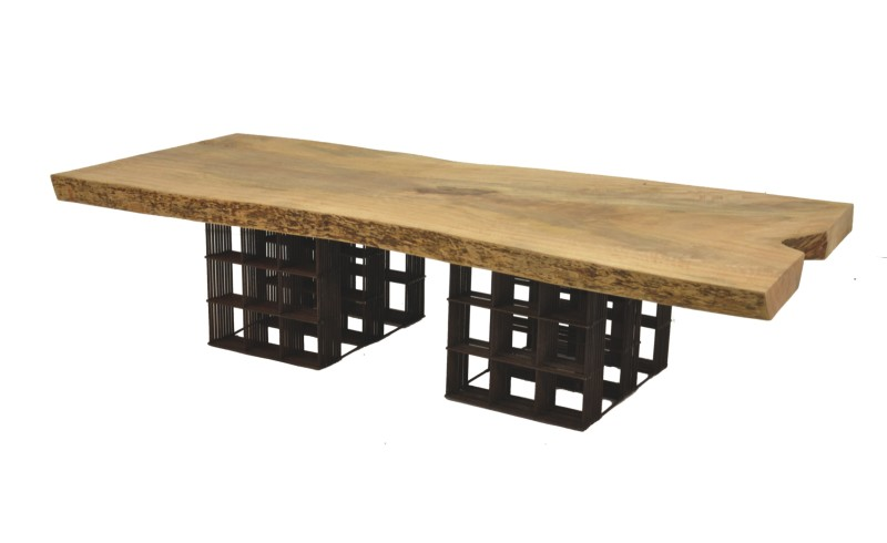 CTR-034 - Tela Coffee Table - Reclaimed Wood Mango - 001