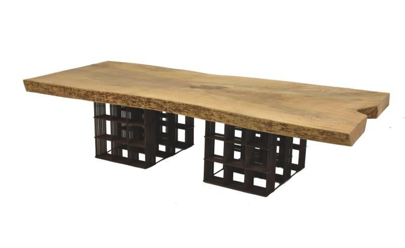 CTR-034 - Tela Coffee Table - Reclaimed Wood Mango - 001