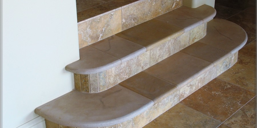 Carpet Tiles On Concrete Stairs