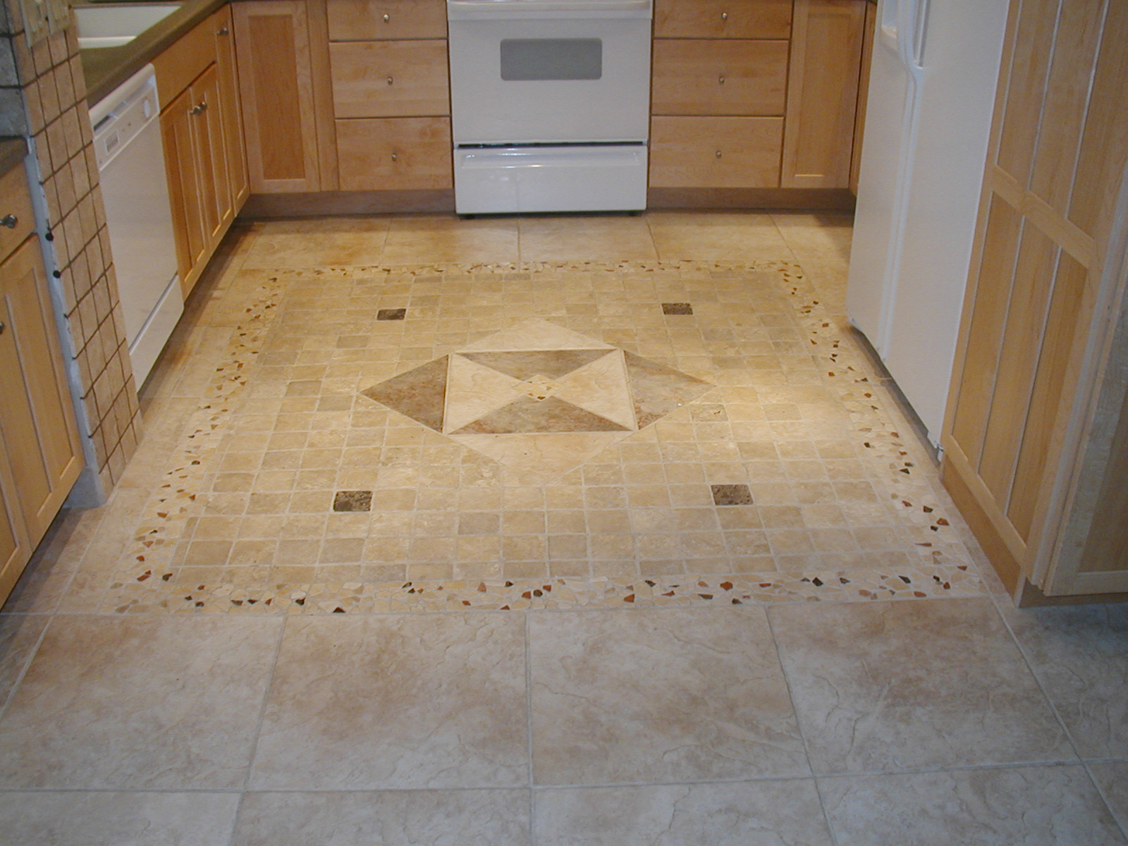 Floor Tile Design Ideas For Kitchen. Ceramic Tile Floors In