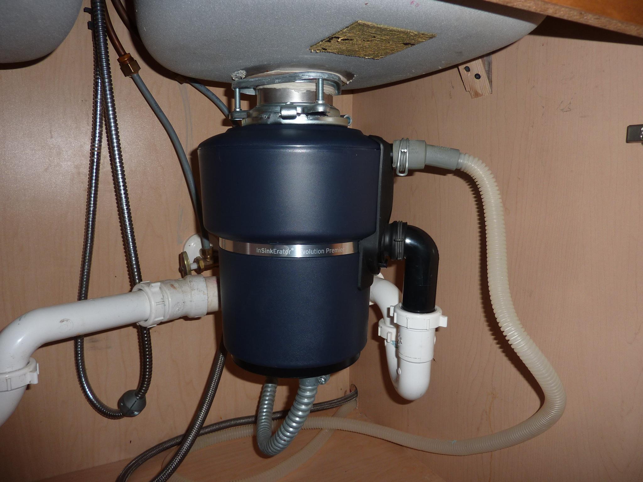 Kitchen Sink Garbage Disposal Installation - Home Design Ideas