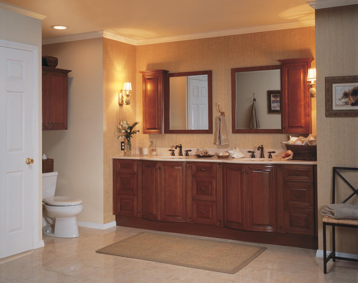 Bathroom Remodel Ideas With Oak Cabinets Custom Design Cabinets |  Jmarvinhandyman