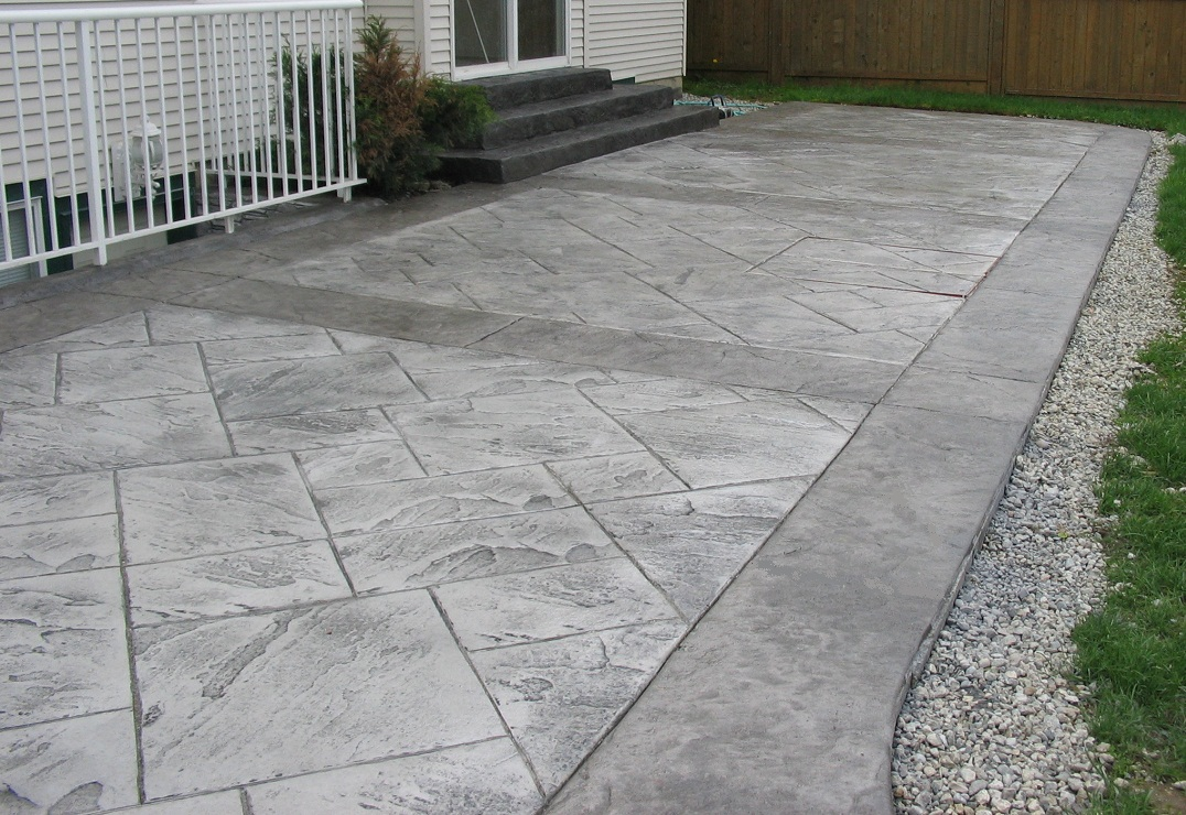 stamped concrete_135 stamped concrete austin - Concrete Driveway Design Ideas