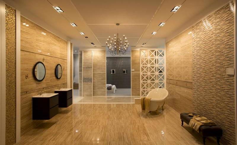 High End Bathroom Tile Bathroom Remodeling With Design Jmarvinhandyman