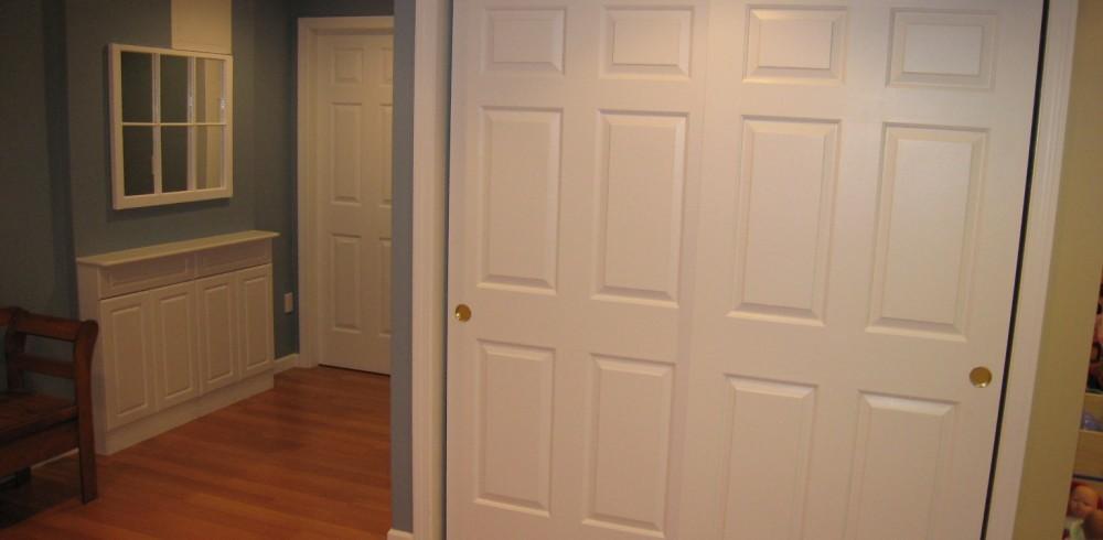 View from garage door - after