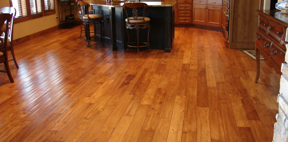 Big Kitchen Hardwood Floor ...