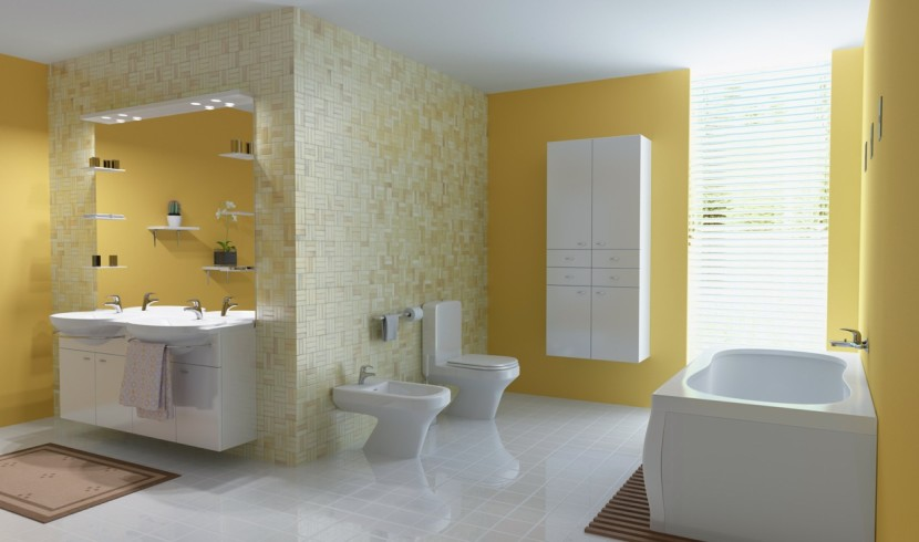 fancy-yellow-bathroom