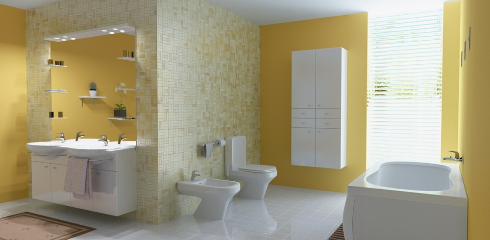 fancy-yellow-bathroom