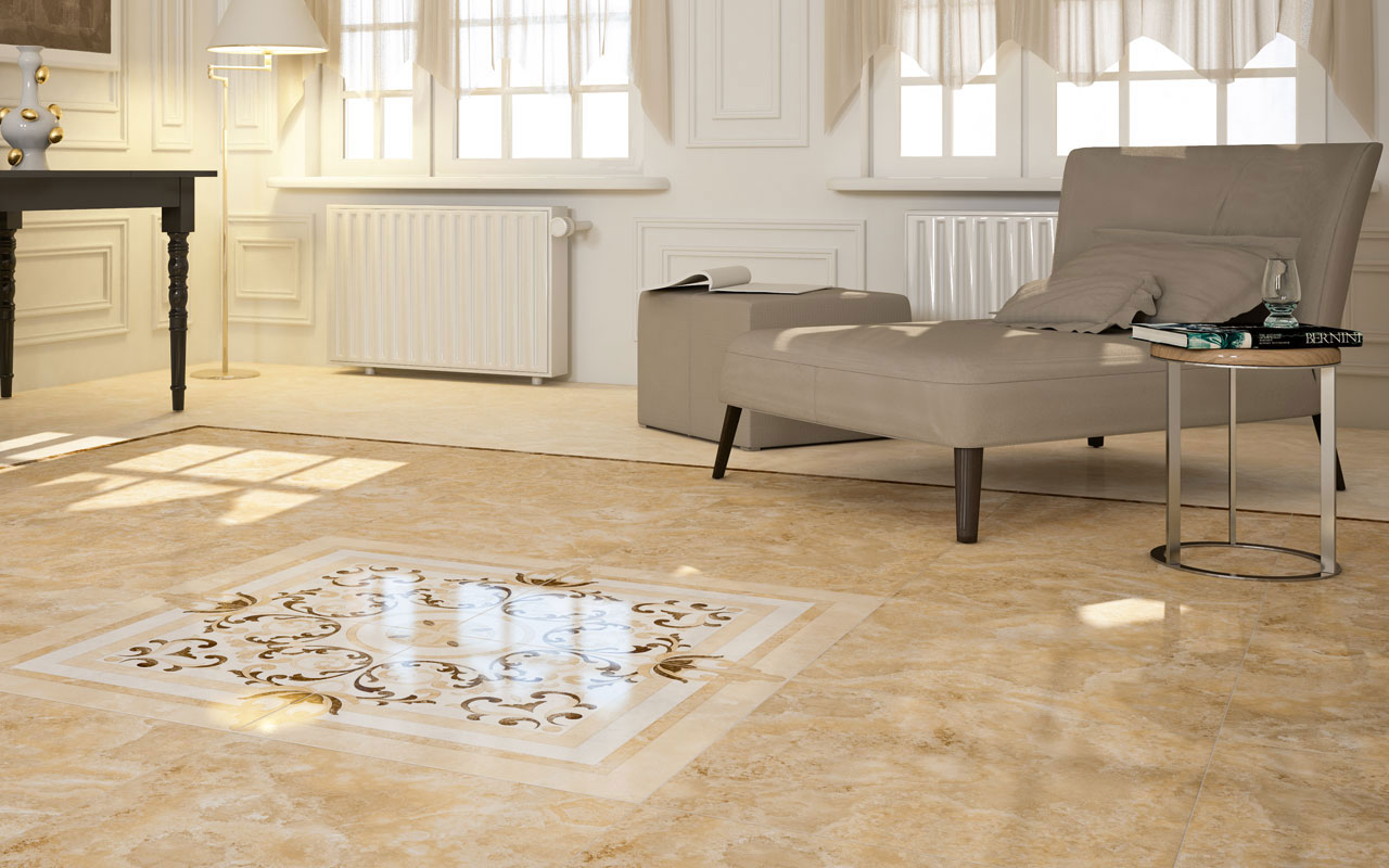 Great Floor Tile For Family Room Design