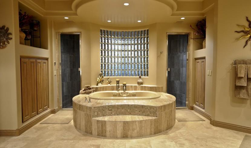 master-bathroom-decoration-with-glass-block-windows