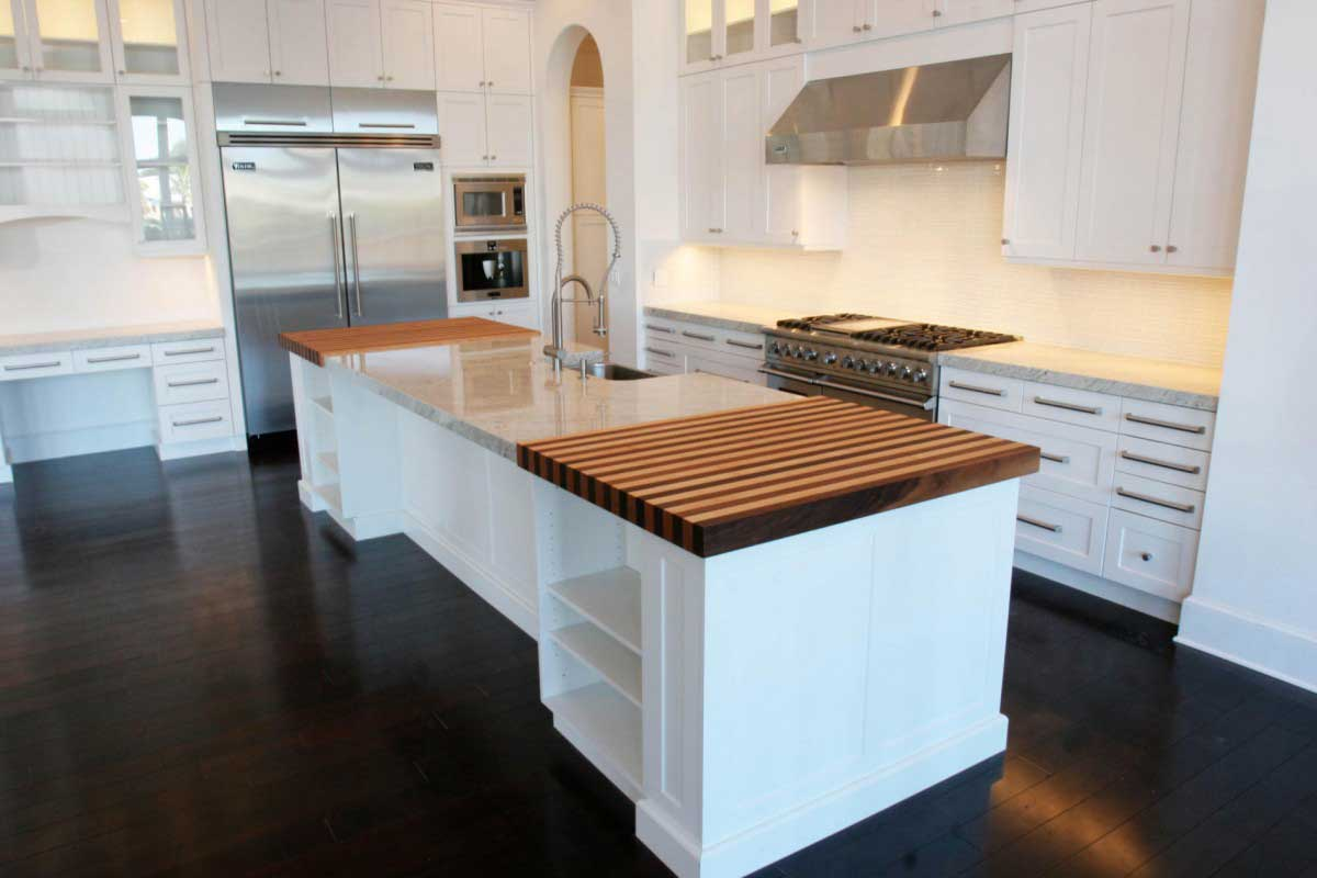Wood floors tile linoleum jmarvinhandyman for Dark tile kitchen floor