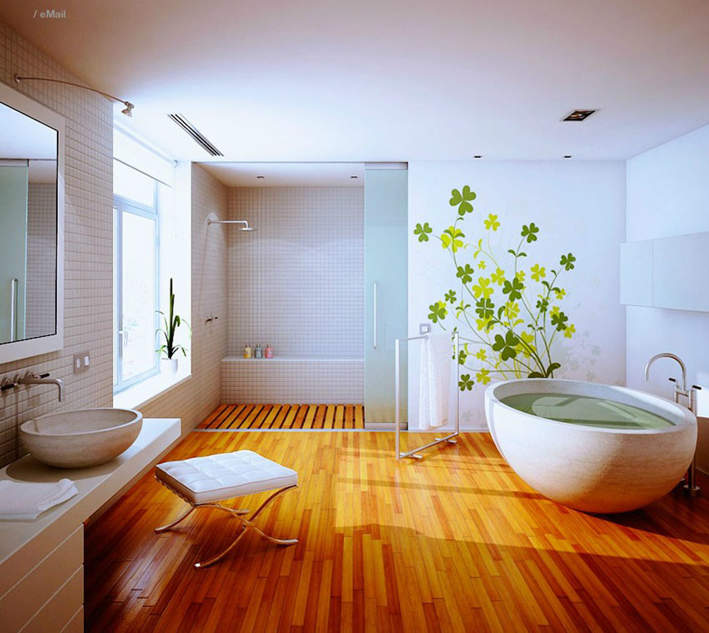 ... -in-retro-bathroom-inspiration-wooden-floor.jpg Stairs wood Floor