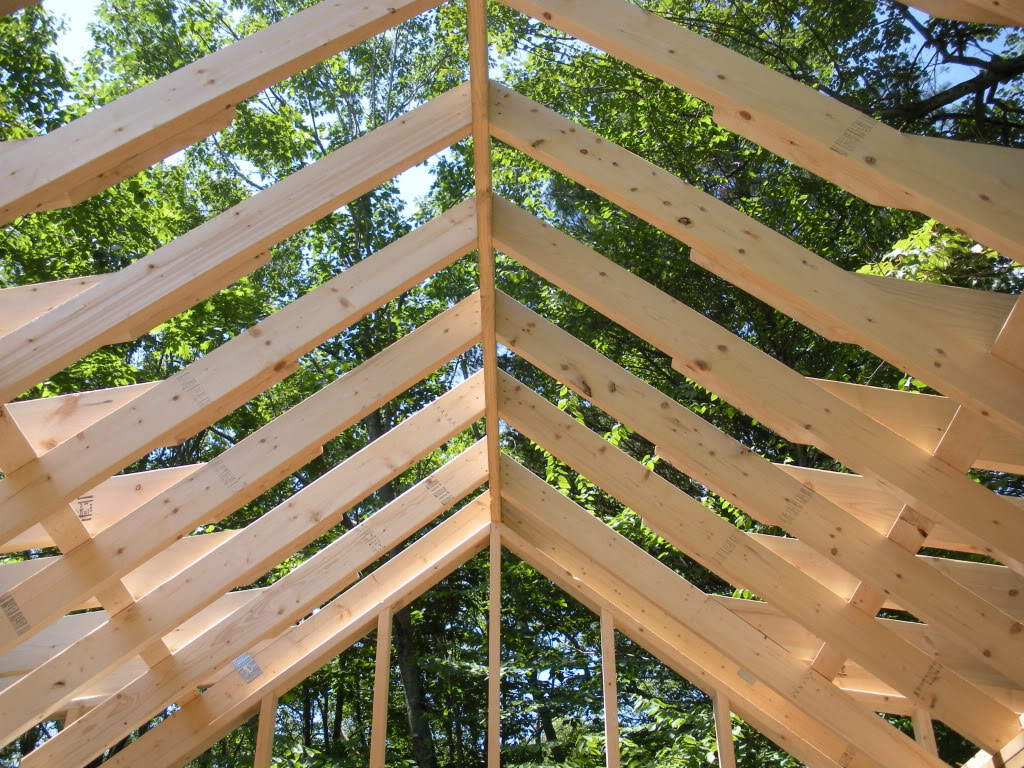 Roof Framing. Our_house_framing_start; Roofframe