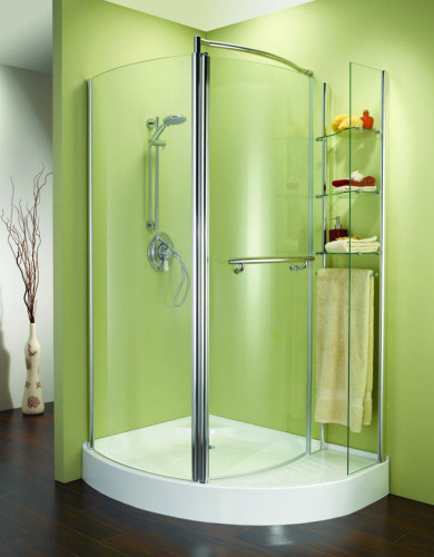 stylish-corner-shower-doors-in-curved-style