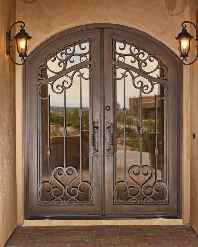 stylish-wrought-iron-security-doors