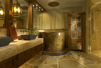 Bathroom remodeling with design.